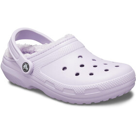 Crocs Classic Lined Clogs lavender/lavender